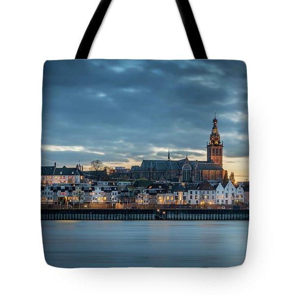 Watching The City Lights, Nijmegen Tote Bag