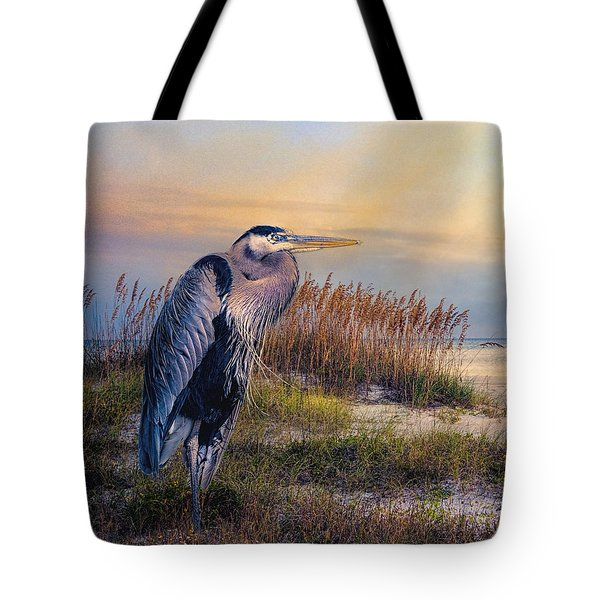 Watching The Sun Go Down Tote Bag