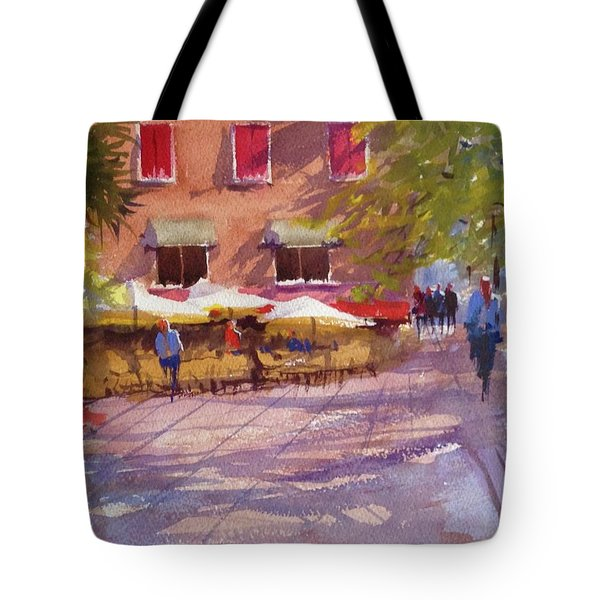 Watching The World Go By Tote Bag