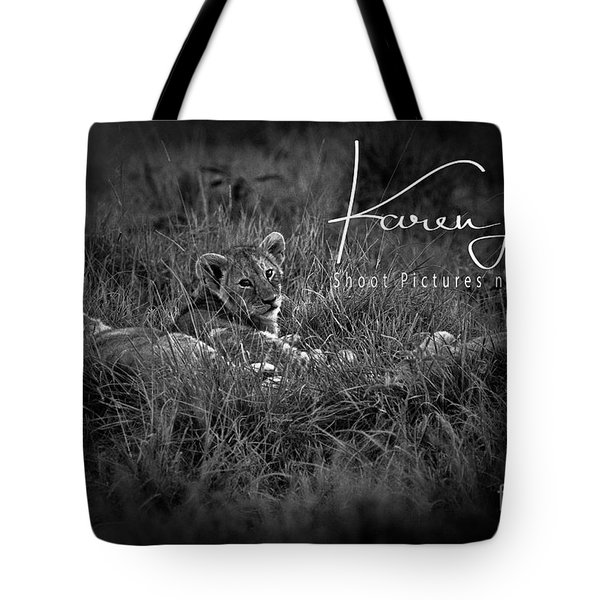 Tote Bag featuring the photograph Watching You Watching Me by Karen Lewis
