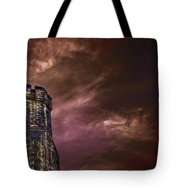 Watchtower Tote Bag