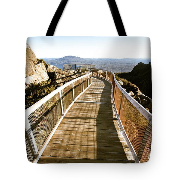 Watchtower Lookout, Ben Lomond, Tasmania Tote Bag