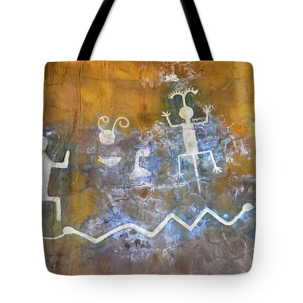 Watchtower Rock Art  Tote Bag
