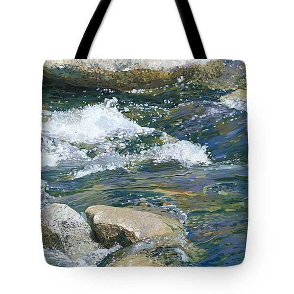 Water 2 Tote Bag by Nadi Spencer
