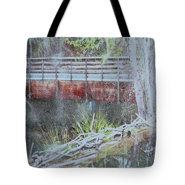 Water #5 Tote Bag