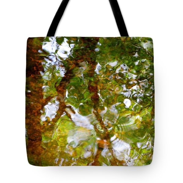 Water Abstract 17 Tote Bag by Joanne Baldaia - Printscapes
