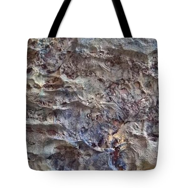 Tote Bag featuring the painting Water Abstract #3117 by Robert Anderson