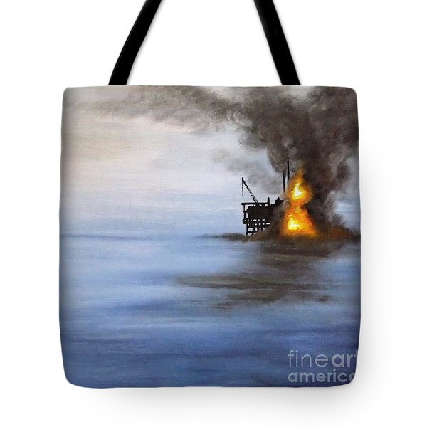 Water And Air Pollution Tote Bag