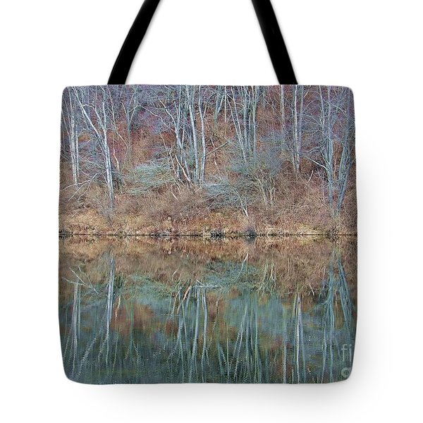 Water And Lace Tote Bag by Christian Mattison