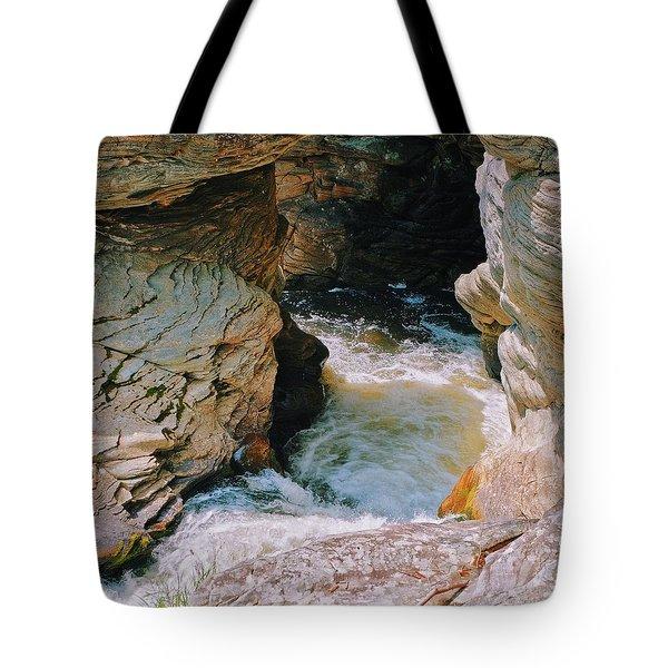 Water And Rock Tote Bag