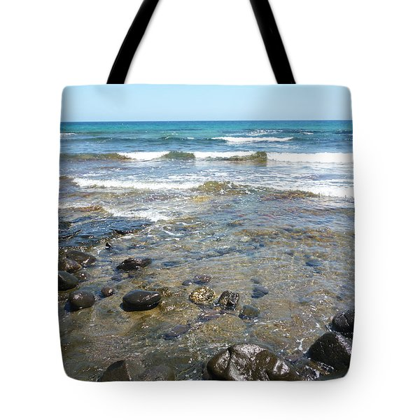 Water And Rocks Tote Bag