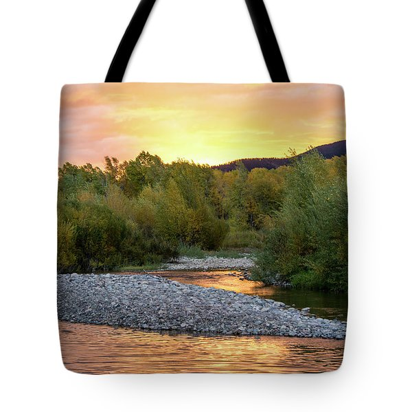 Water And Sky Tote Bag by Mary Hone