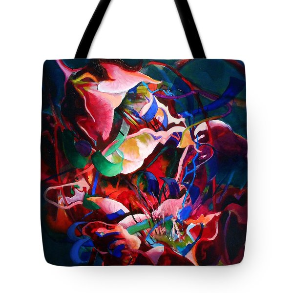 Water Avens, Entanglement I Tote Bag by Georg Douglas