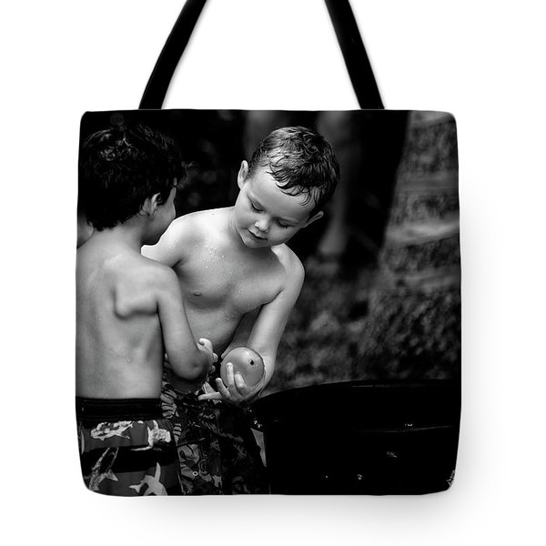 Water Balloon Tote Bag