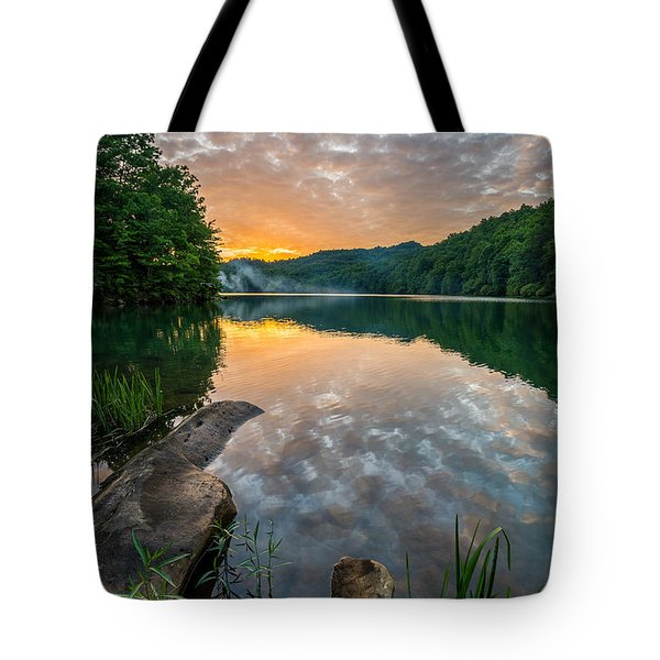 Water Blaze Tote Bag by Anthony Heflin