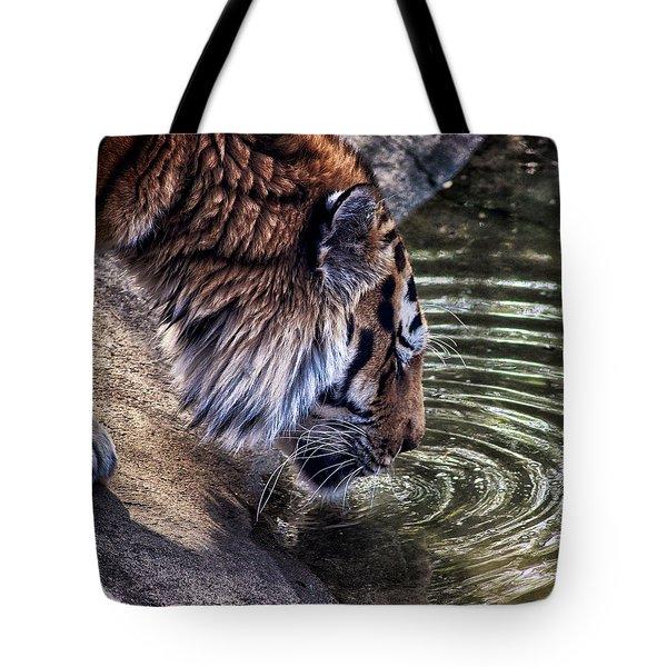 Water Break Tote Bag