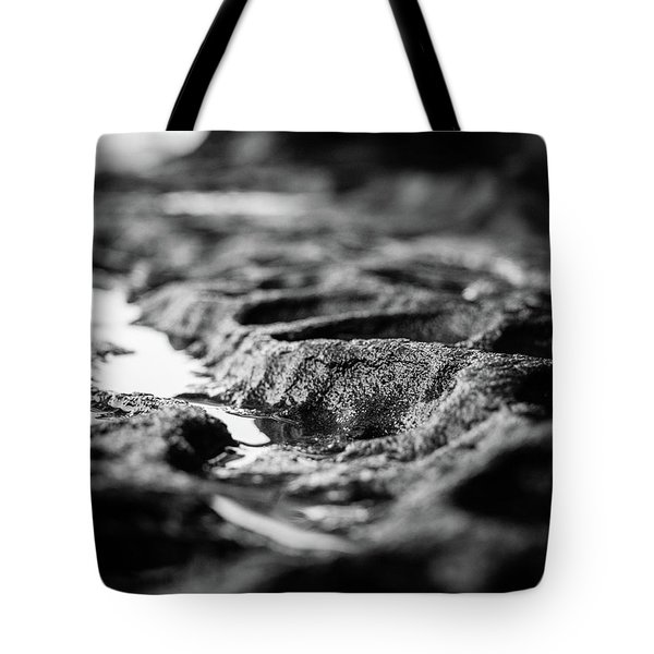Water Carvings Tote Bag
