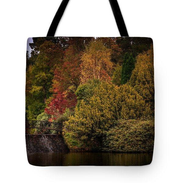 Tote Bag featuring the photograph Water Cascade by Ryan Photography