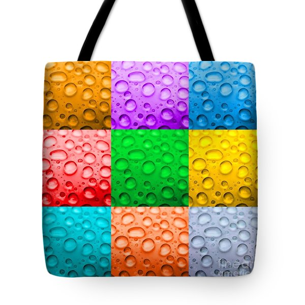 Tote Bag featuring the photograph Water Color by DJ Florek
