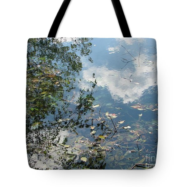 Water Color Tote Bag by Misha Bean