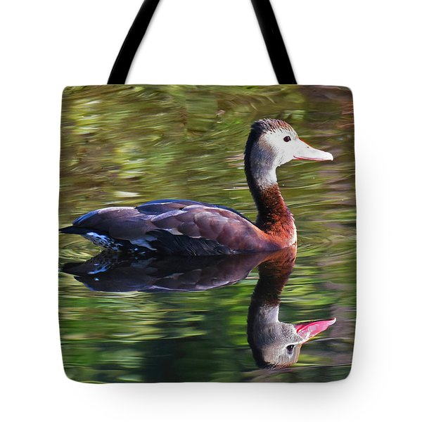Tote Bag featuring the photograph Water Color by Sally Sperry