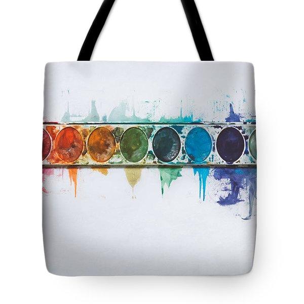 Water Colors Tote Bag