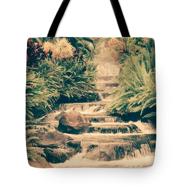 Tote Bag featuring the photograph Water Creek by Sheila Mcdonald