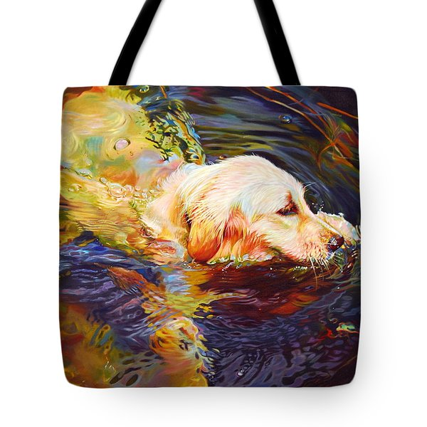 Water Dance 2 Tote Bag by Kelly McNeil