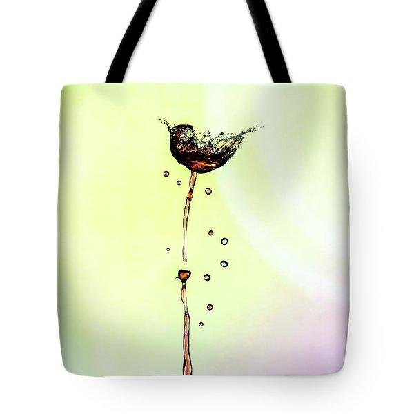 Water Drop #9 Tote Bag