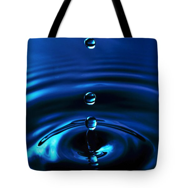 Water Drop Tote Bag by Marlo Horne