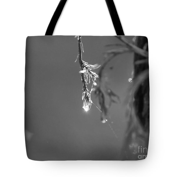 Water Droplet Tote Bag