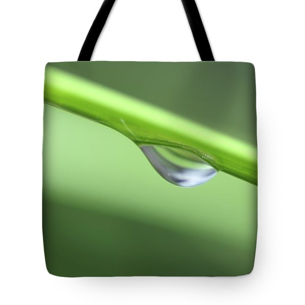 Tote Bag featuring the photograph Water Droplet II by Richard Rizzo