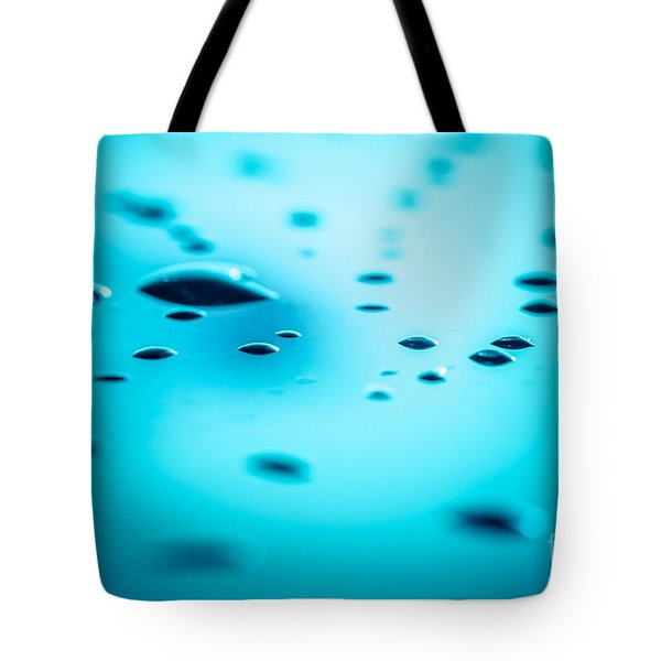 Water Drops On Surface 5 Tote Bag