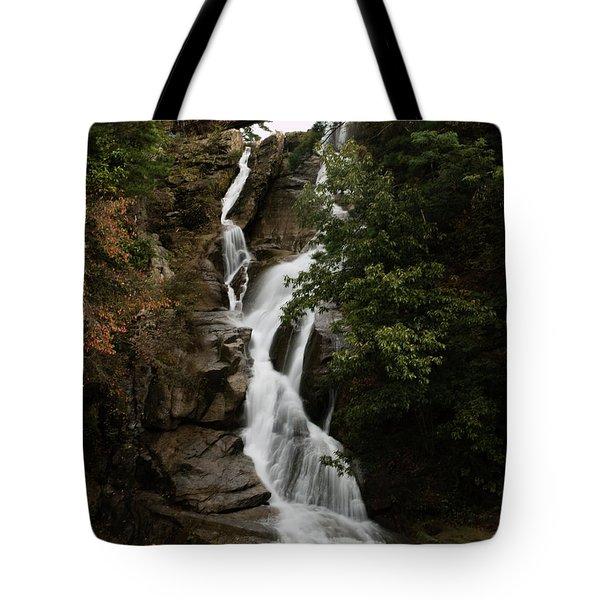Water Fall 3 Tote Bag