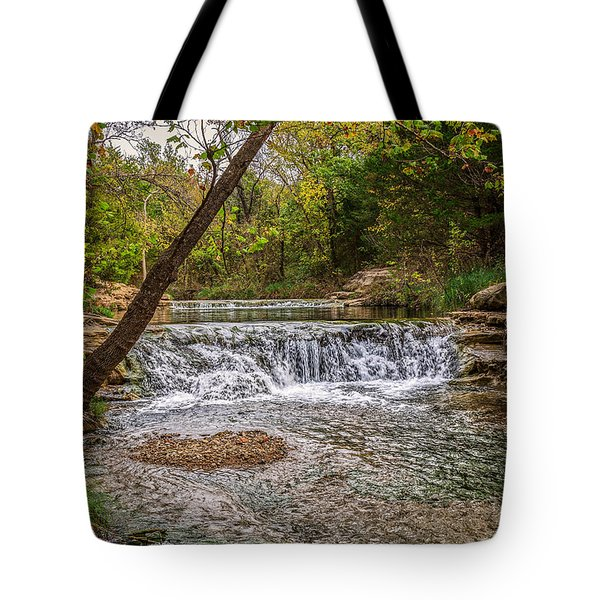 Water Fall Tote Bag by Doug Long