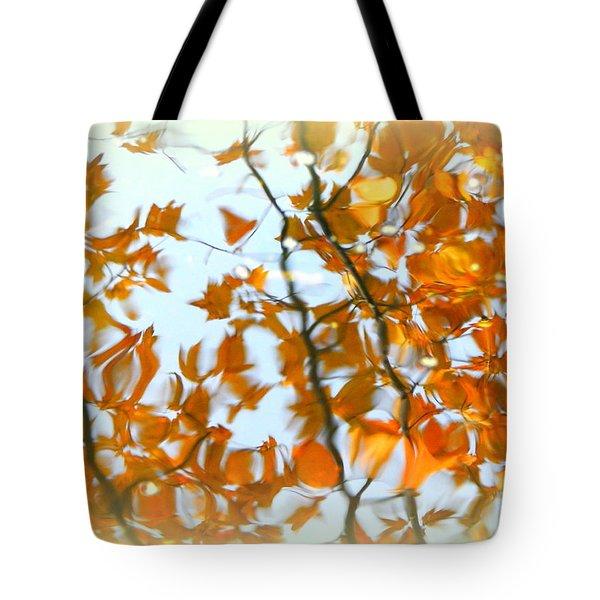 Water Fall Tote Bag
