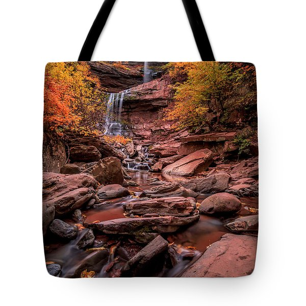 Tote Bag featuring the photograph Water Falls  by Anthony Fields