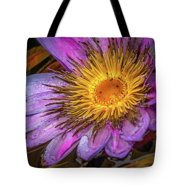 Water Flower Tote Bag
