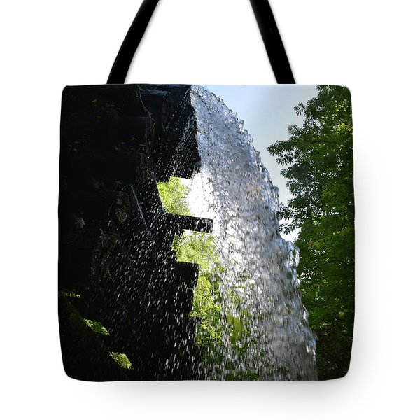 Water Flume Diversion Tote Bag