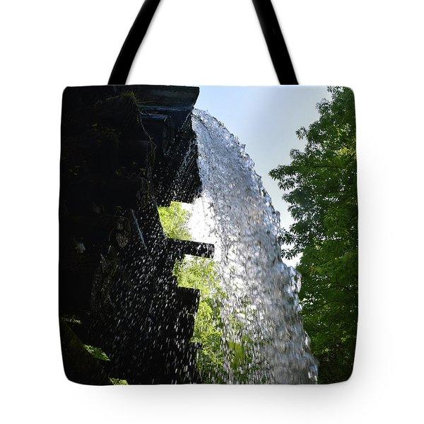 Water Flume Diversion Tote Bag