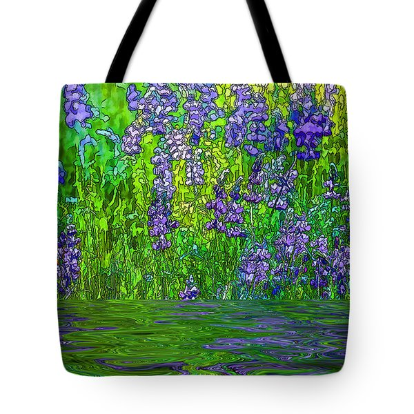 Water For Flowers Tote Bag