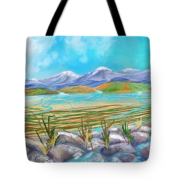 Water For Irrigation  Tote Bag