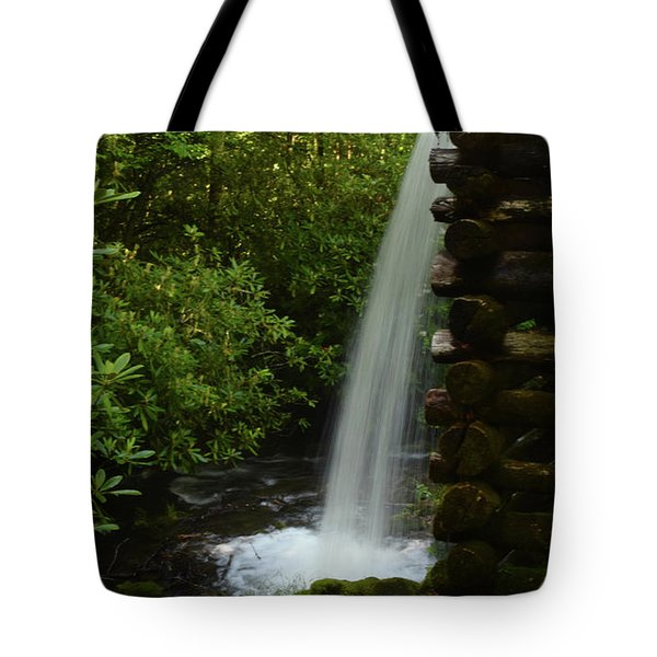 Water From The Flume Tote Bag