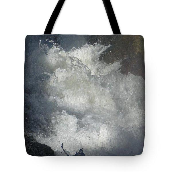 Water Fury 3 Tote Bag by Jean Bernard Roussilhe