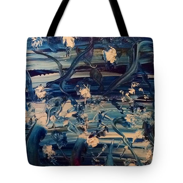 Water Garden Beyond Flight Tote Bag by Kicking Bear Productions