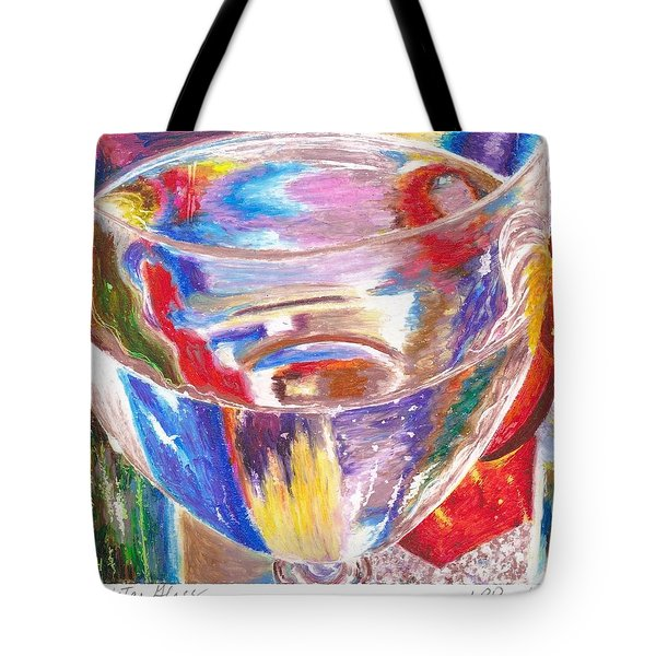 Water Glass Tote Bag