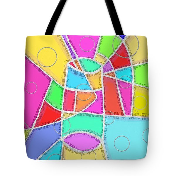 Water Glass Of Light And Color Tote Bag