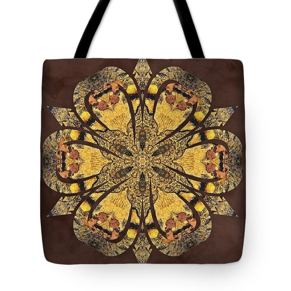 Tote Bag featuring the mixed media Water Glimmer 1 by Derek Gedney
