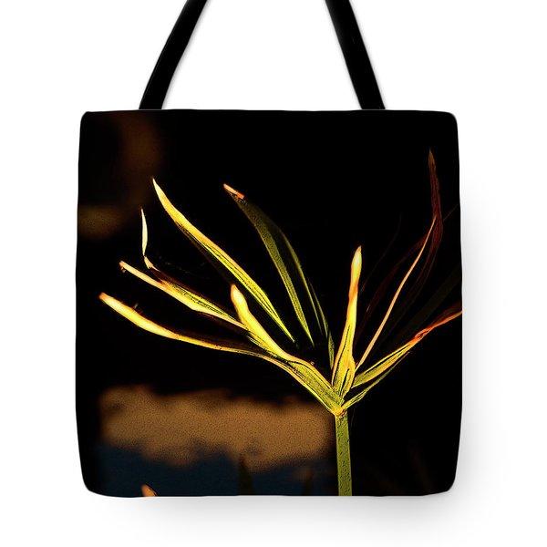 Water Grass Tote Bag