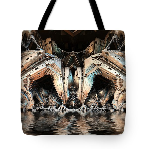 Water Hazard Tote Bag
